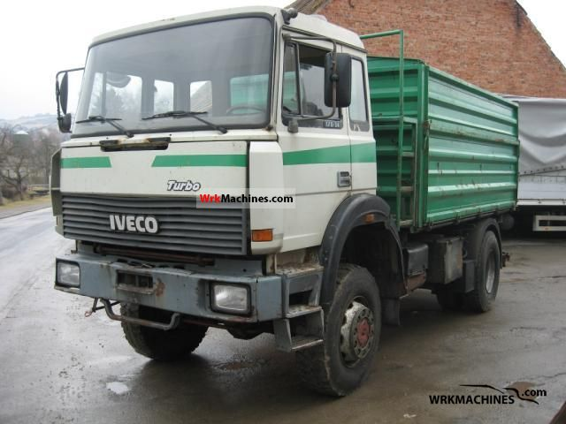 1991 IVECO P/PA 170-34 Truck over 7.5t Three-sided Tipper photo