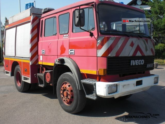 1986 IVECO M 165-24 Truck over 7.5t Tank truck photo