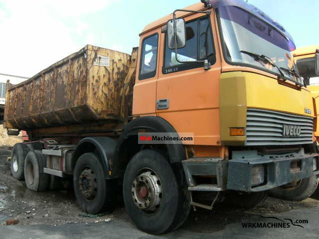 1991 IVECO P/PA 340-34 Truck over 7.5t Roll-off tipper photo