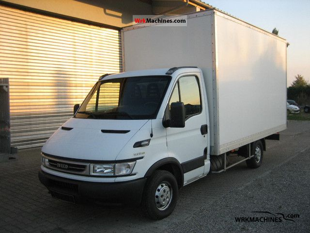 2006 IVECO Daily II 35 S 12 Van or truck up to 7.5t Box photo