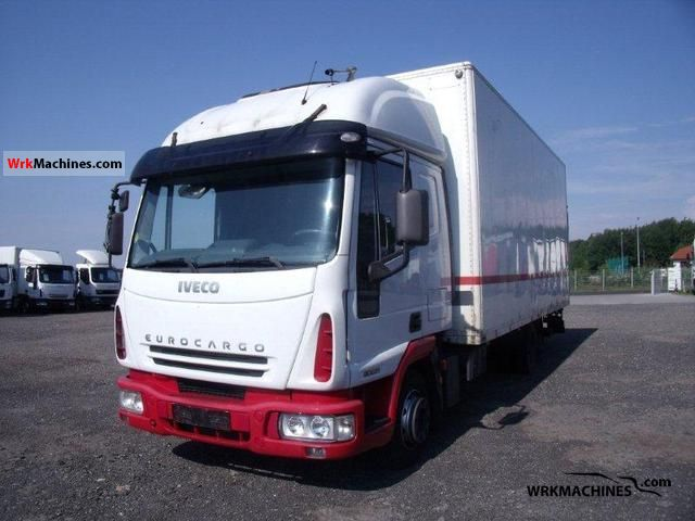 2006 IVECO EuroCargo 80 E 21 Truck over 7.5t Box photo