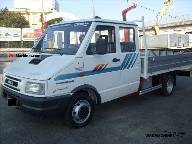 1997 IVECO Daily I 35-10 Van or truck up to 7.5t Stake body photo