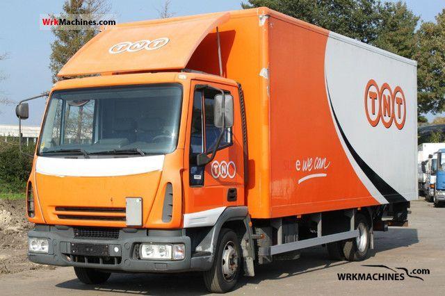 2004 IVECO EuroCargo 75 E 17 Truck over 7.5t Box photo