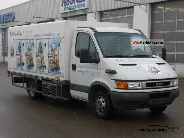 2001 IVECO Daily II 50 C 13 Van or truck up to 7.5t Refrigerator body photo