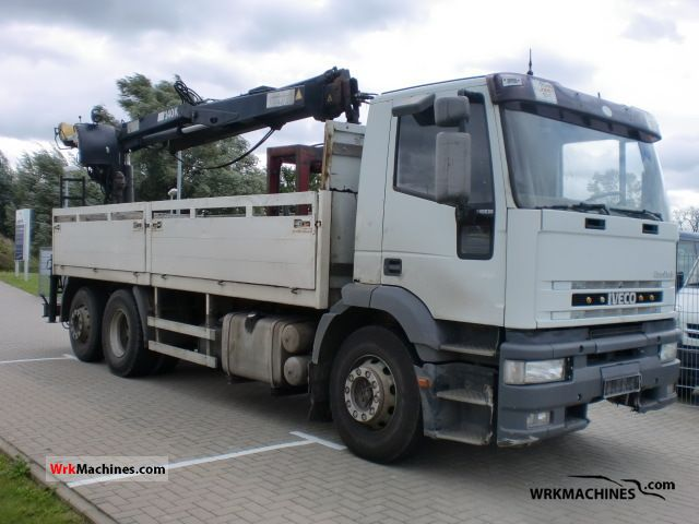 1994 IVECO EuroStar 240 E 38 Truck over 7.5t Stake body photo