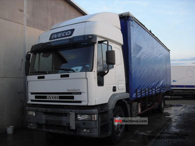 2002 IVECO EuroTrakker 190 Truck over 7.5t Stake body and tarpaulin photo
