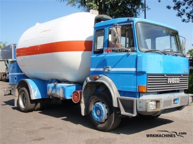1991 IVECO M 175-24 Truck over 7.5t Tank truck photo