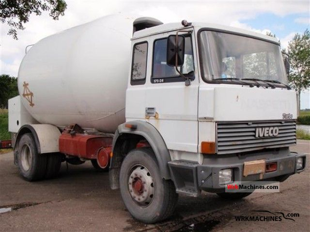 1988 IVECO M 175-24 Truck over 7.5t Tank truck photo
