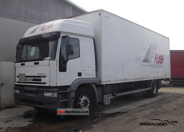 2002 IVECO EuroTrakker 190 Truck over 7.5t Box photo