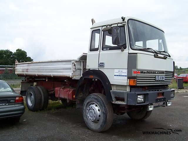 1988 IVECO P/PA 160-23 AHW Truck over 7.5t Tipper photo