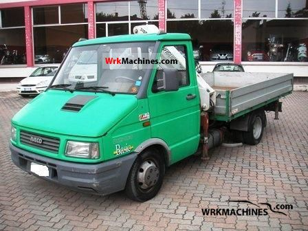 1993 IVECO Daily I 35-8 Van or truck up to 7.5t Stake body photo