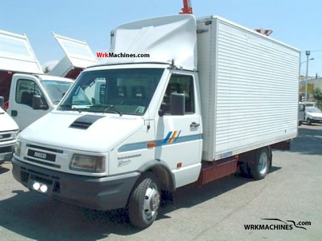 iveco daily i 35 10 1999 other vans trucks up to 7 5t photos and info. Black Bedroom Furniture Sets. Home Design Ideas