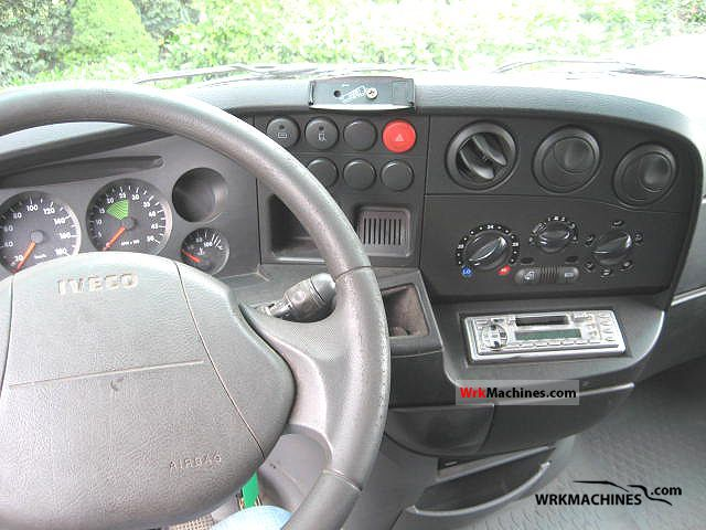 IVECO Daily II 50 C 13 2005 Box-type delivery van - high and long ...