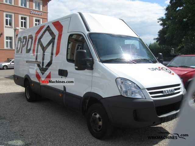 2007 IVECO Daily II 35 C 12 Van or truck up to 7.5t Box-type delivery van - high and long photo