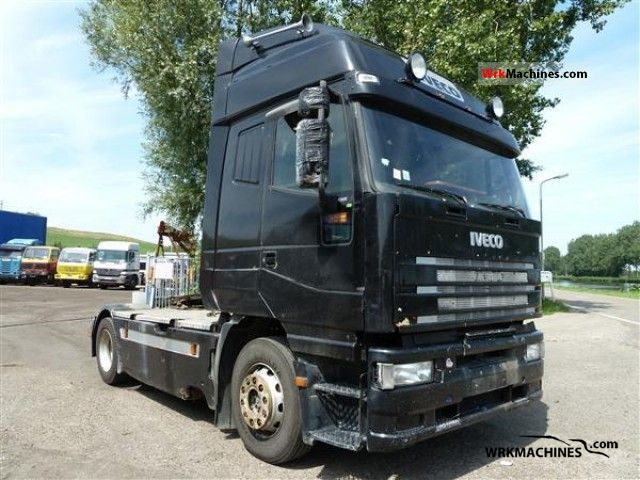 1998 IVECO EuroStar 440 E 38 Semi-trailer truck Standard tractor/trailer unit photo