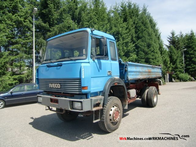1992 IVECO P/PA 180-23 AHW Truck over 7.5t Tipper photo