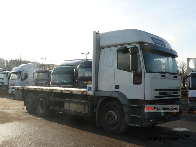 2000 IVECO EuroStar 260 E 43 Truck over 7.5t Stake body photo