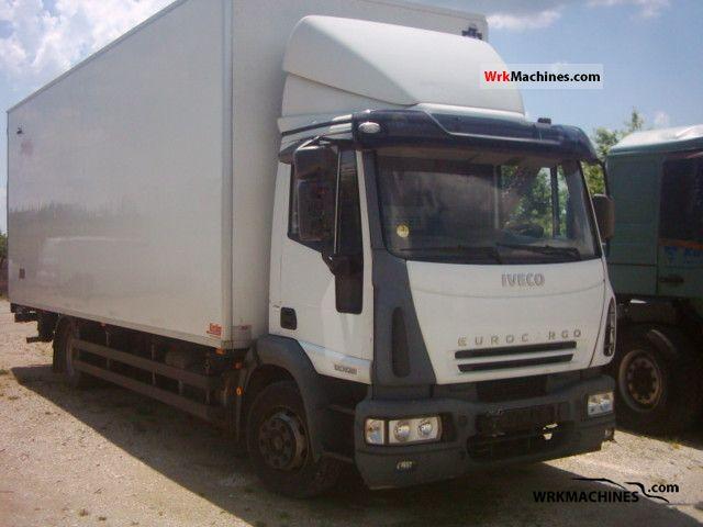 2004 IVECO EuroCargo 120 E 28 Truck over 7.5t Box photo