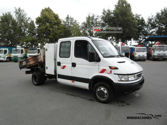 2006 IVECO Daily III 35C12 Van or truck up to 7.5t Tipper photo