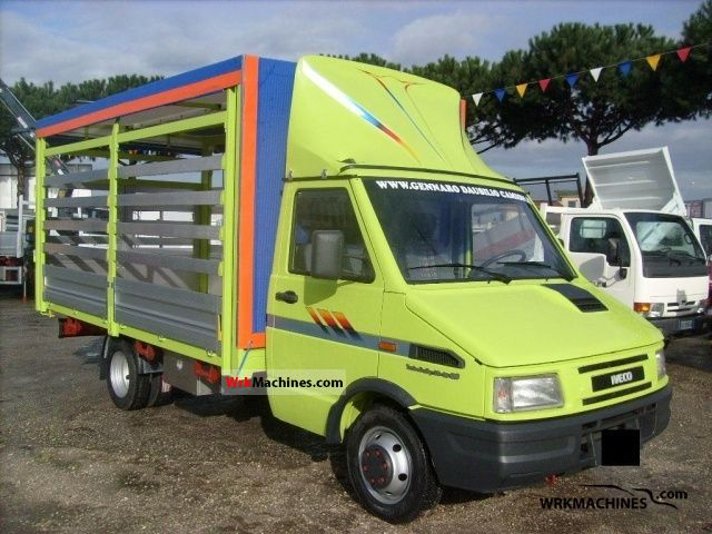 1997 IVECO Daily I 35-10 C Van or truck up to 7.5t Stake body and tarpaulin photo