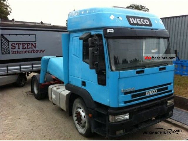 1997 IVECO EuroStar 440 E 42 Semi-trailer truck Standard tractor/trailer unit photo