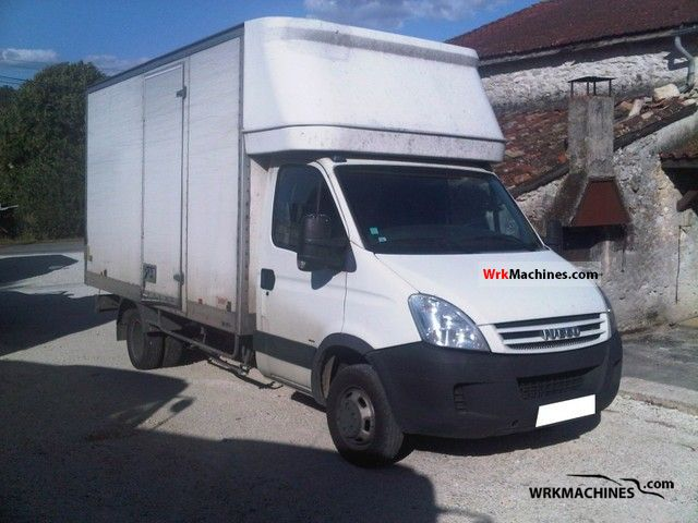2008 IVECO Daily III 35C12 Van or truck up to 7.5t Swap chassis photo