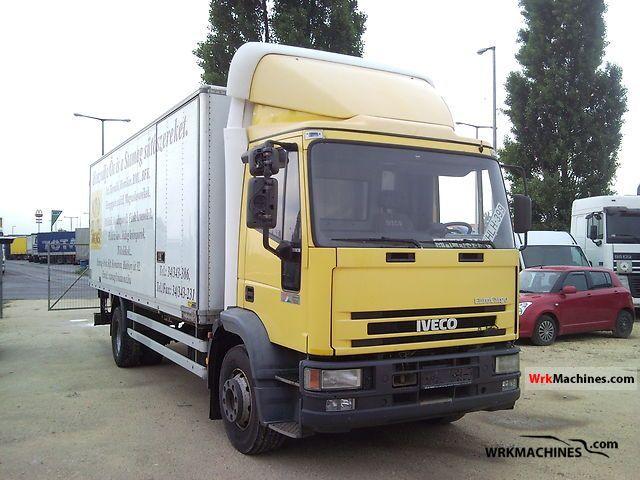 2001 IVECO EuroCargo 150 E 18 Truck over 7.5t Refrigerator body photo