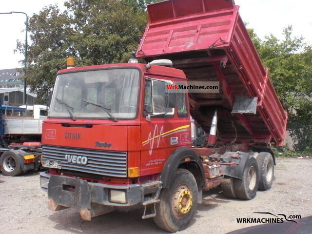 1988 IVECO P/PA 260-30 Truck over 7.5t Tipper photo