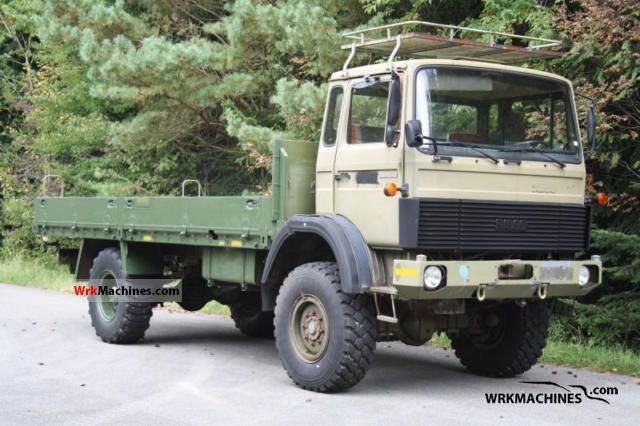 1984 IVECO MK 110-16 A Truck over 7.5t Stake body photo