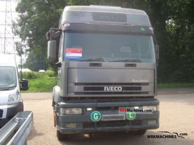 1996 IVECO EuroStar 440 E 42 Semi-trailer truck Standard tractor/trailer unit photo