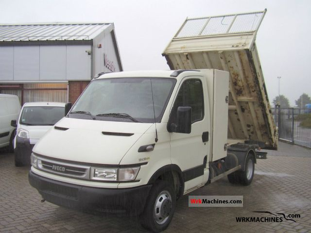 2006 IVECO Daily III 35C12 K Van or truck up to 7.5t Tipper photo
