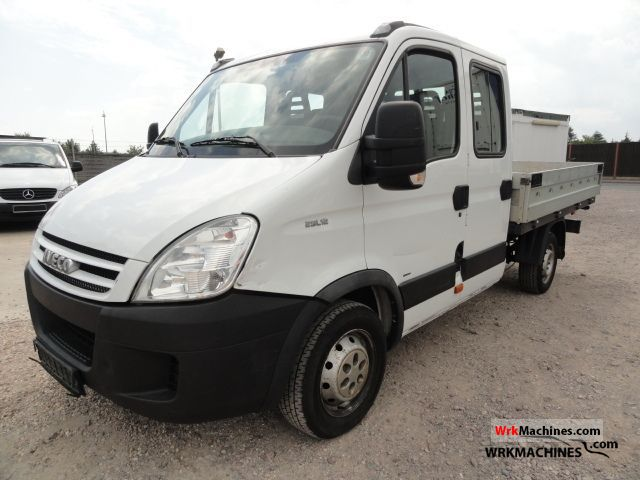 2008 IVECO Daily III 29L12 D Van or truck up to 7.5t Stake body photo