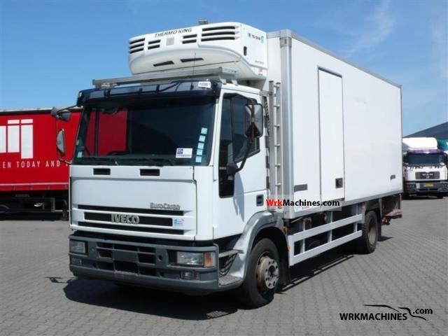 2002 IVECO EuroCargo 120 E 18 Truck over 7.5t Refrigerator body photo