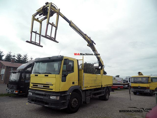 1999 IVECO EuroTech MH 190 E 27 Truck over 7.5t Stake body photo