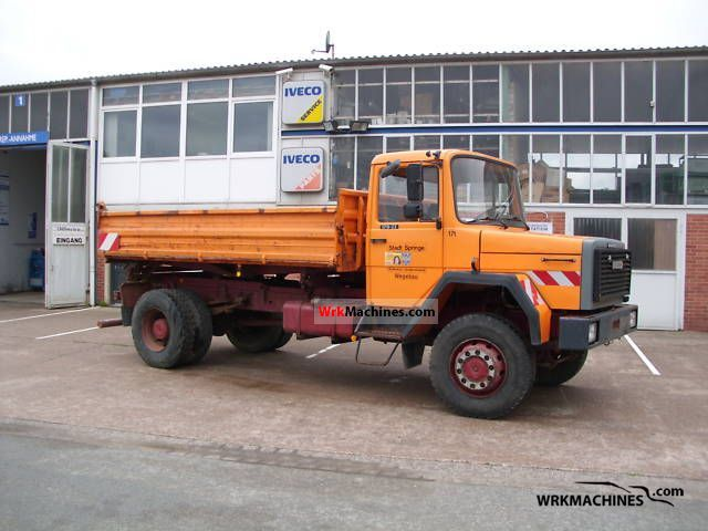 1991 IVECO P/PA 170-23 Truck over 7.5t Three-sided Tipper photo