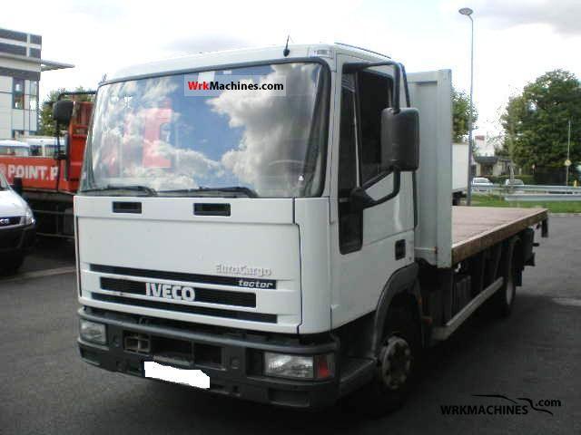 2002 IVECO EuroCargo 100 E 17 Truck over 7.5t Stake body photo