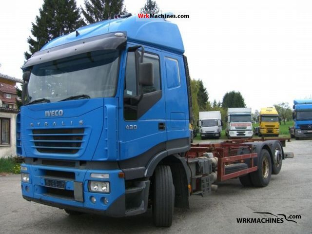 2002 IVECO Stralis 260S43 Truck over 7.5t Swap chassis photo