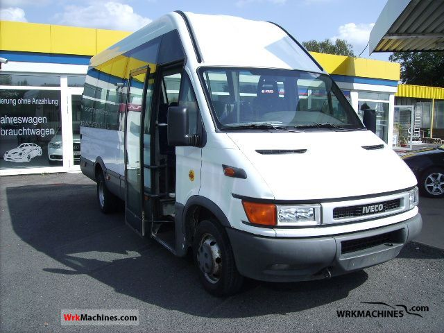 2001 IVECO Daily II 50 C 13 Coach Cross country bus photo