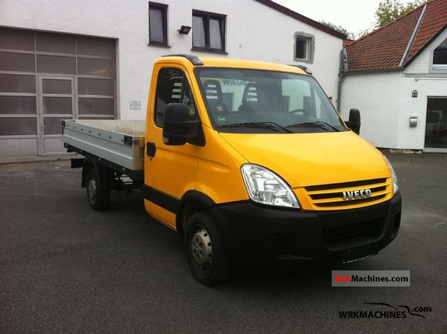 2008 IVECO Daily III 29L12 /P Van or truck up to 7.5t Stake body photo