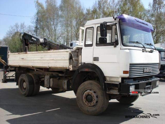 1992 IVECO P/PA 180-25 Truck over 7.5t Tipper photo