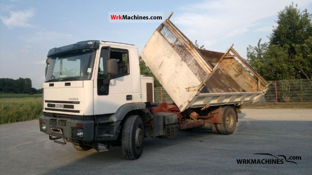 2001 IVECO EuroTrakker 190 Truck over 7.5t Tipper photo