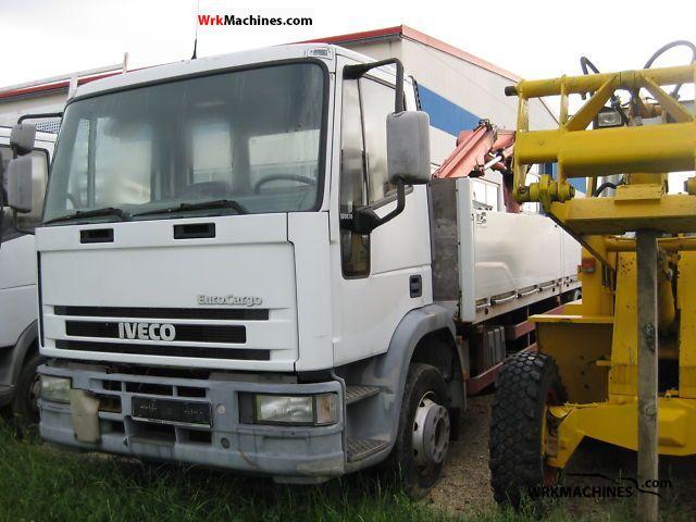 1995 IVECO EuroCargo 120 E 18 Truck over 7.5t Stake body photo