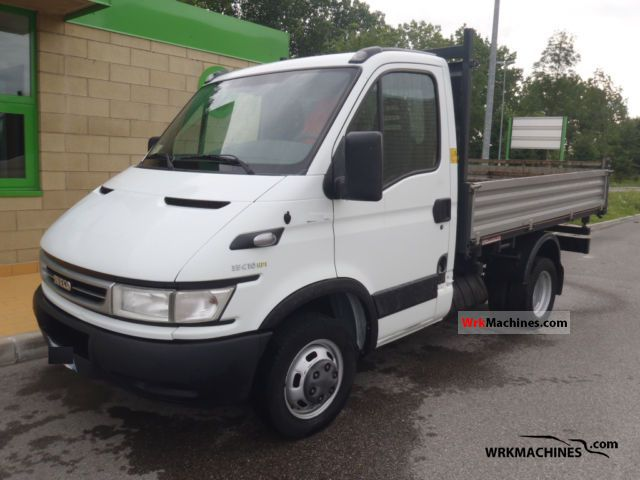 2006 IVECO Daily III 35C10 K Van or truck up to 7.5t Three-sided Tipper photo