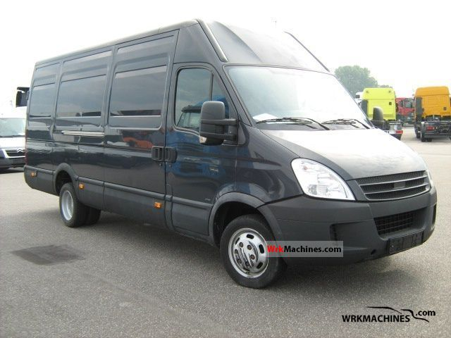 2008 IVECO Daily III 35C12V Van or truck up to 7.5t Box-type delivery van - high and long photo