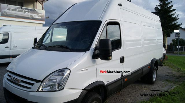 2007 IVECO Daily III 65C18 Van or truck up to 7.5t Box-type delivery van - high and long photo