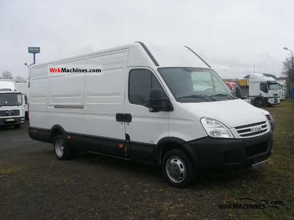 2008 IVECO Daily II 35 C 12 Van or truck up to 7.5t Box-type delivery van - high and long photo