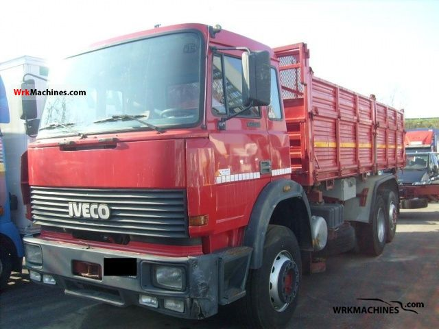 1992 IVECO TurboTech 190-26 Truck over 7.5t Three-sided Tipper photo