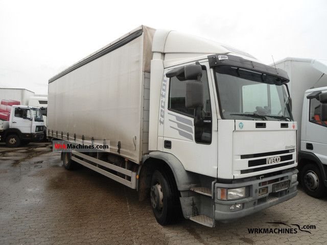 2002 IVECO EuroCargo 150 E 28 tector Truck over 7.5t Stake body and tarpaulin photo