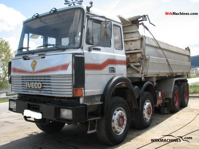 1990 IVECO P/PA 340-34 Truck over 7.5t Three-sided Tipper photo