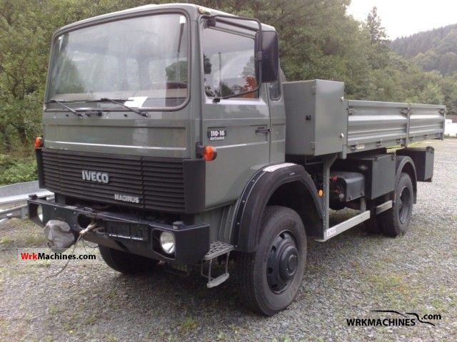 1984 IVECO MK 110-16 Truck over 7.5t Stake body photo